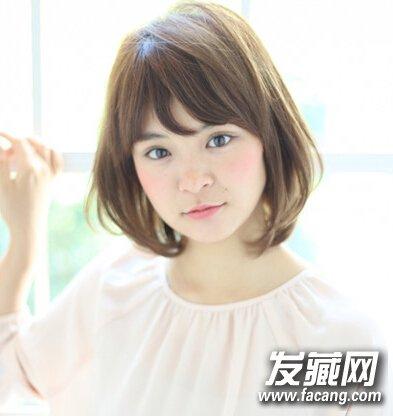 【图】圆脸女生发型设计