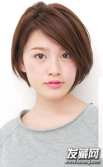 圆脸女生也能驾驭的短发,选这五款就对了!(2)图片