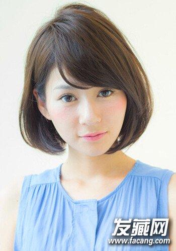 日系甜美波波头短发发型图片精选(2)