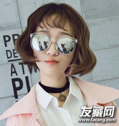 韩式波波头甜美减龄,秋季短发就该这么剪(2)图片