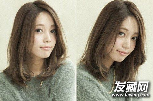 发型网 女生发型 中长发型 > 最新五款日系甜美中长发发型令你美翻一图片