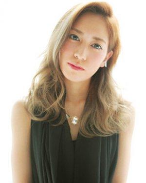 【图】2016中长发烫发发型
