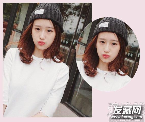 【图】鸭蛋脸女生的甜美可爱淑女发型(4)