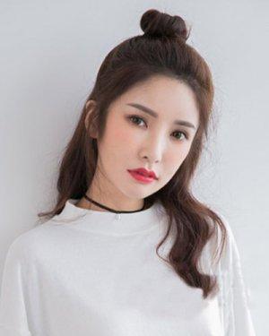 2015秋冬流行发型 韩国女生发型
