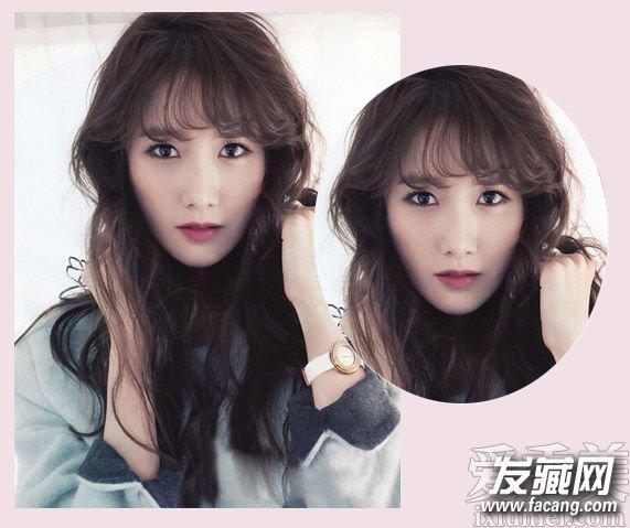韩式空气刘海发型图片 换季一样也适合(2)图片