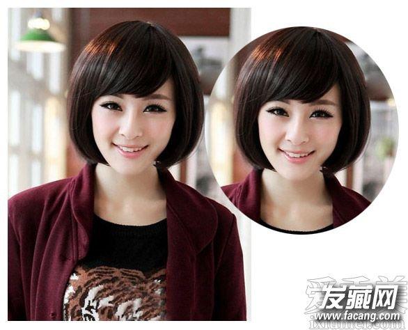 导读: 简单波波头发型一: 不喜欢刘海的妹纸们可以来看看这款清爽感十足的女生时尚假发波波头发型设计,简单的中短发波波头造型再配合一个宽大的发带造型设计成的无刘海波波头很显青春活力