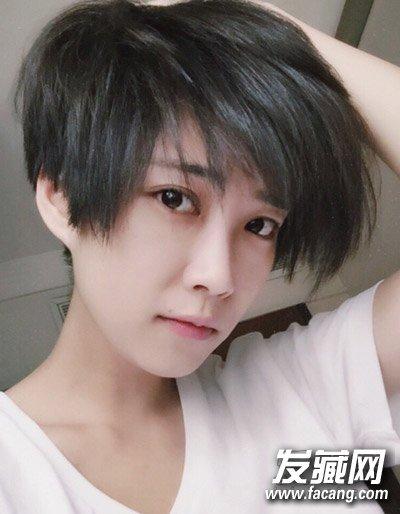 女生齐耳短发发型图片 女生齐耳短发图片(3)图片