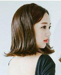 流行短发烫发发型图片 清新的中短发发型