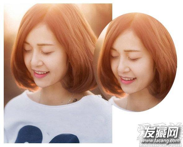 流行短发烫发发型图片 清新的中短发发型 3