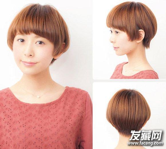 2015女生短发发型图片 12款美过长发(4)图片