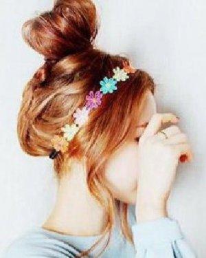 桃心形的花苞头盘发发型 DIY花苞头盘发&编发花苞头