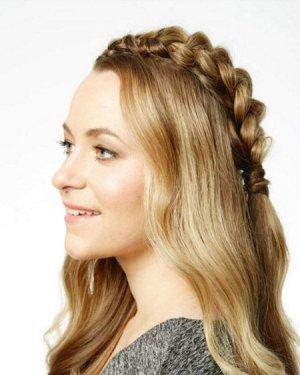 法式减龄麻花辫教程 女孩都爱长披发发型