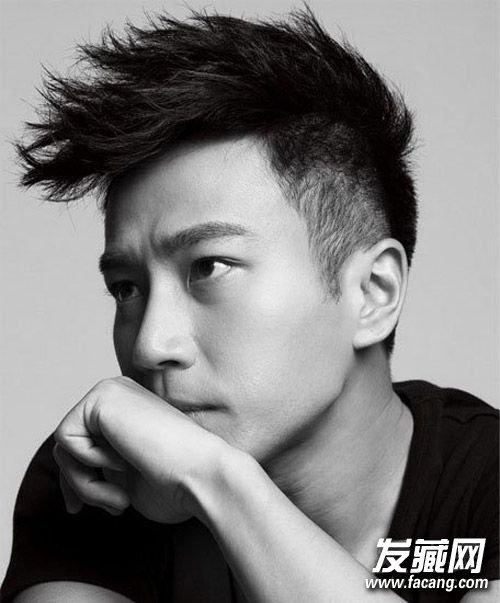 刘恺威发型图片 时尚大背头发型(2)