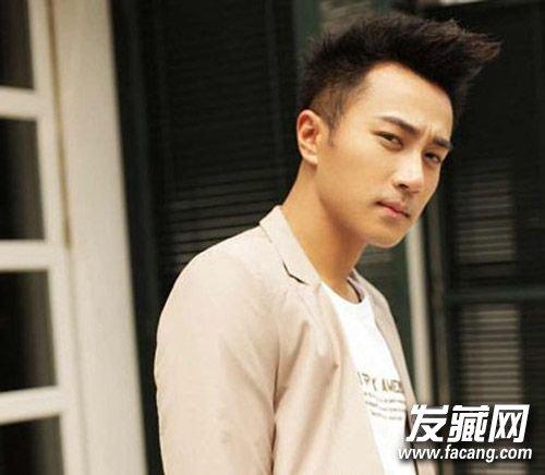 刘恺威发型图片 时尚大背头发型(3)