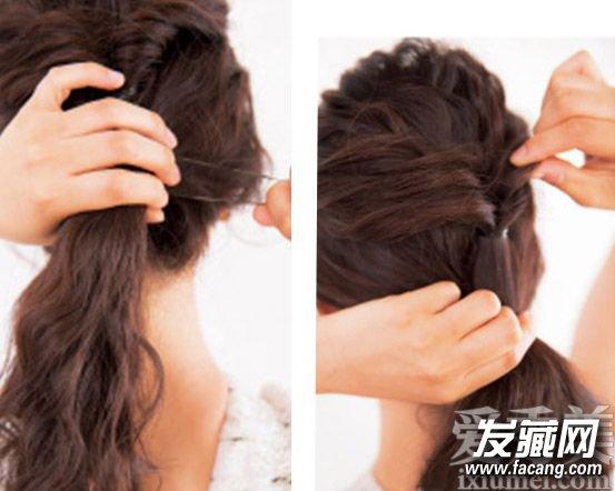 """发量少适合的发型 蓬松马尾辫让""""多""""起来(4)"""