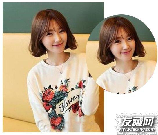 学生怎样弄发型好看 2015韩国学生发型(3)