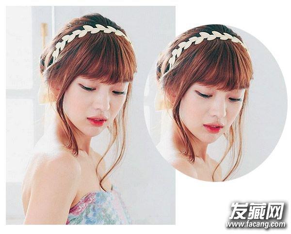 齐刘海怎么弄好看 韩式齐刘海发型(2)