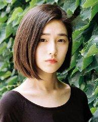 圆脸什么发型显瘦 中短直发发型