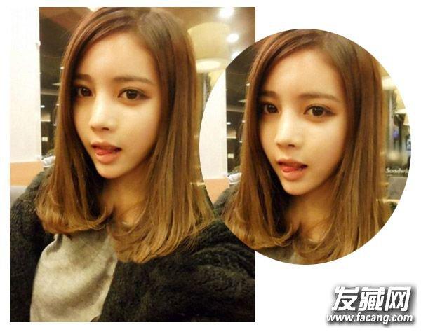 冬季卷发发型空气感刘海发型设计(3)