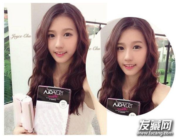 冬季卷发发型空气感刘海发型设计(3)图片
