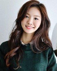 2015冬季新款烫发图片 韩式清新时尚栗色染发颜色