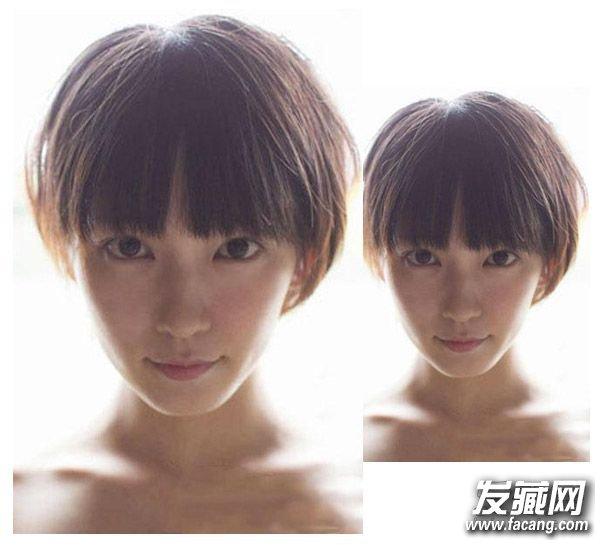 日系可爱短发发型十 适合短发女生的一款日系短发