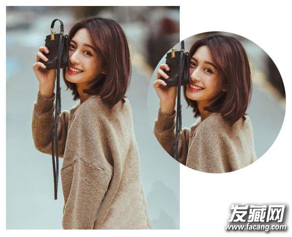 韩式简约发型八 可爱灵动的短 卷发发型 ,甜美的空气刘海与短卷发