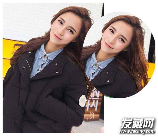 流行女生齐肩中长发 时尚的齐肩发型的设计(2)