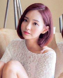女生染发颜色大全 个性的中短发发型