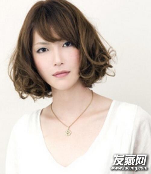 韩国荷叶头发型图片3