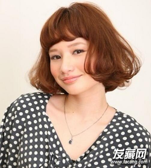 韩国荷叶头发型图片4
