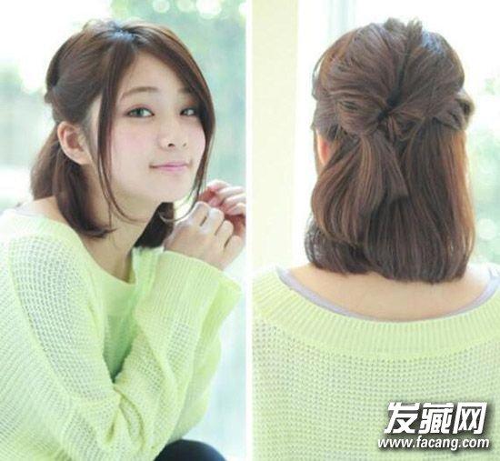 冬季长发怎么扎好看 时髦公主头发型 →半扎公主头&侧编发 最新的