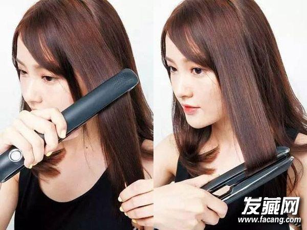 发型设计       在长发末梢制造一些自然的弯曲感
