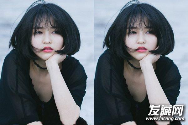 短发弄什么发型好看 女生短发内扣发型搭配(3)