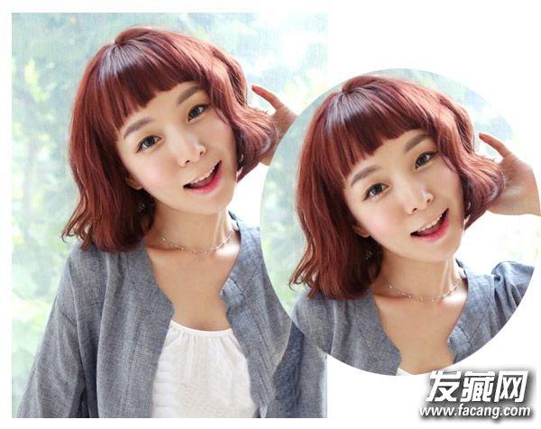 短发蛋卷头是韩剧中的女主很