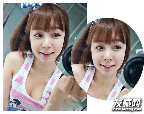 短发蛋卷头是韩剧中的女主很喜欢的一款发型