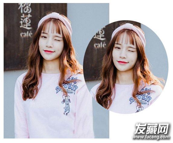 空气刘海中长发发型 这才是今年最流行女生发型
