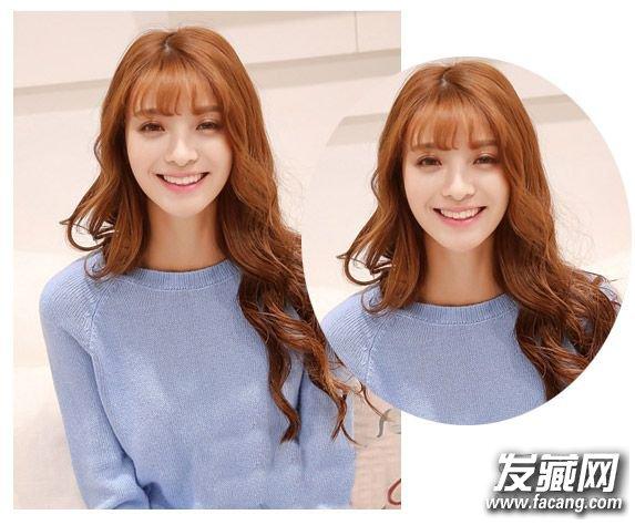 空气刘海中长发发型 这才是今年最流行女生发型 4图片