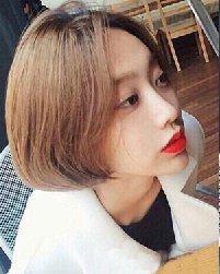 短头发烫发发型 最新短发烫发发型图片