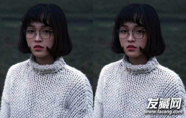 韩式中短 卷发发型