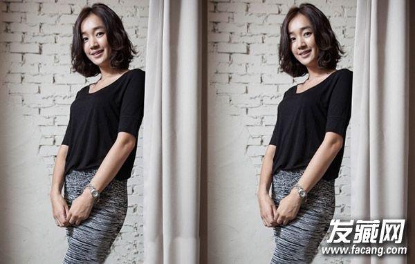 韓式女生燙短發發型 最新流行短燙發圖片