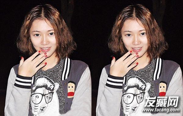 短头发烫发发型 最新短发烫发发型图片(3)