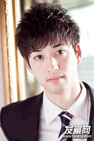 【图】男生齐刘海短发发型 时尚潮男范尽显_女生可爱