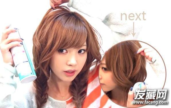 长发编发教程图解 简单辫子发型可爱加倍 长发怎么编好看