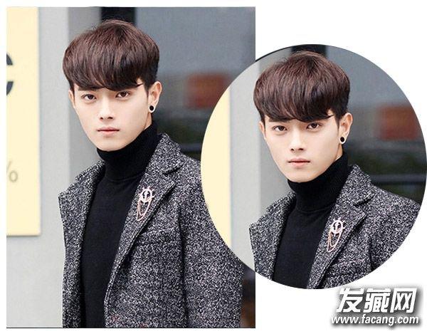男生齐刘海短发发型 男生剪齐刘海短发绝对好看(3)