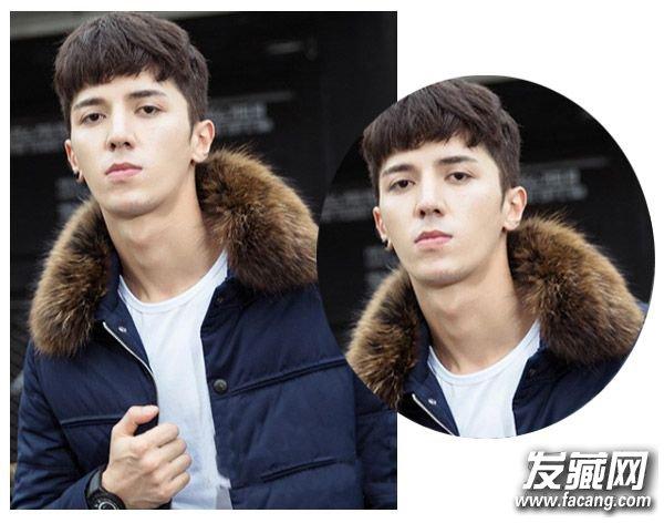 冬季男士发型大全 新年更需要一款帅帅的短发图片