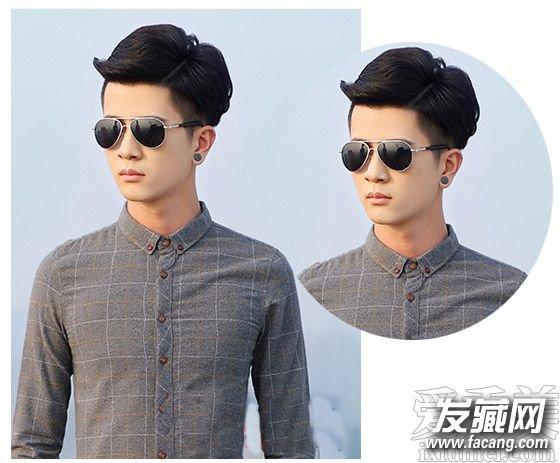 2015男士短发发型 阳光帅气暖男范(4)图片