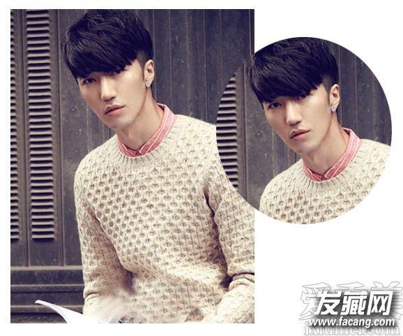 【图】男生两边剃短的发型叫什么?(2)_男生烫发发型图片