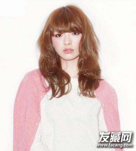 【图】日系甜美发型中长发提升妹子可爱度!