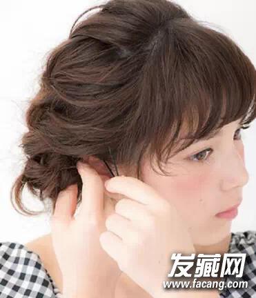 冬季长发怎么扎好看? 长发中长发mm必看(2)
